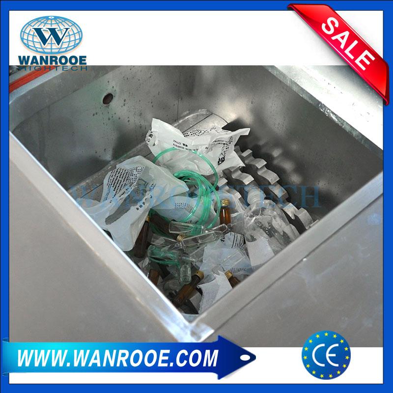 Medical Waste Shredder, Medical Waste Treatment, Medical Waste Disposal Equipment, Waste Treatment Machines