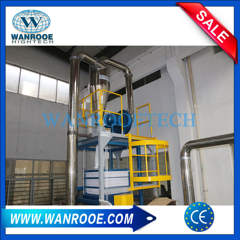 Dual Grinding Disc LLDPE LDPE PP Plastic Pulverizer