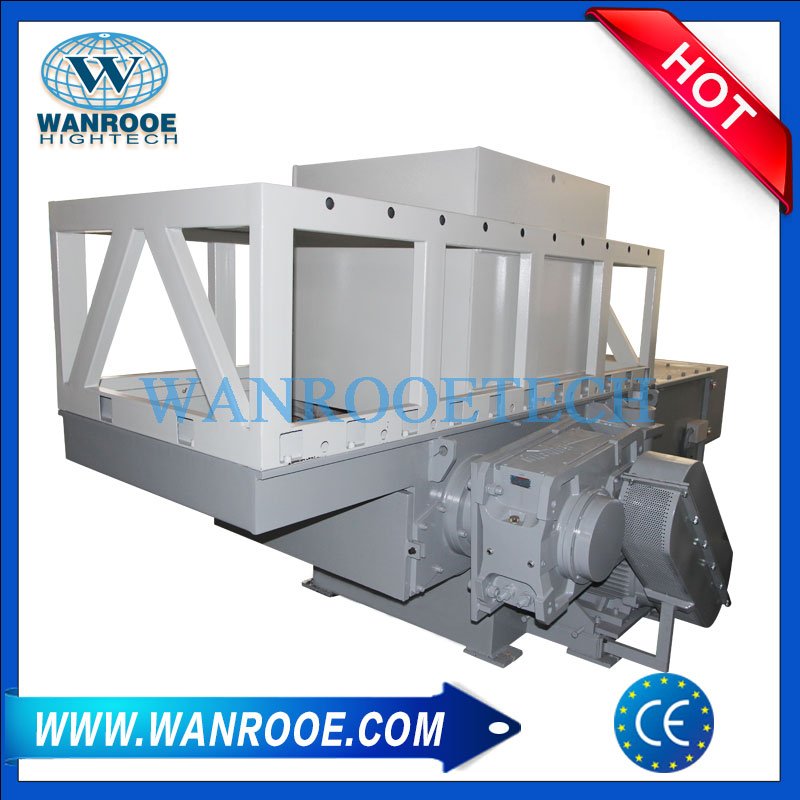 Plastic Lumps Shredder, Plastic Block Shredder, PVC Shredder, Waste Plastic Shredder, PC Shredder
