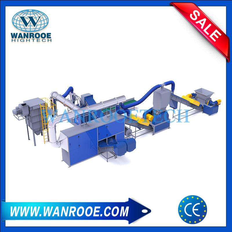 Scrap Radiator Recycling Plant, Metal Recycling Line, Scrap Radiator Recycling Machine, Copper Aluminum Water Tank Recycling Machine