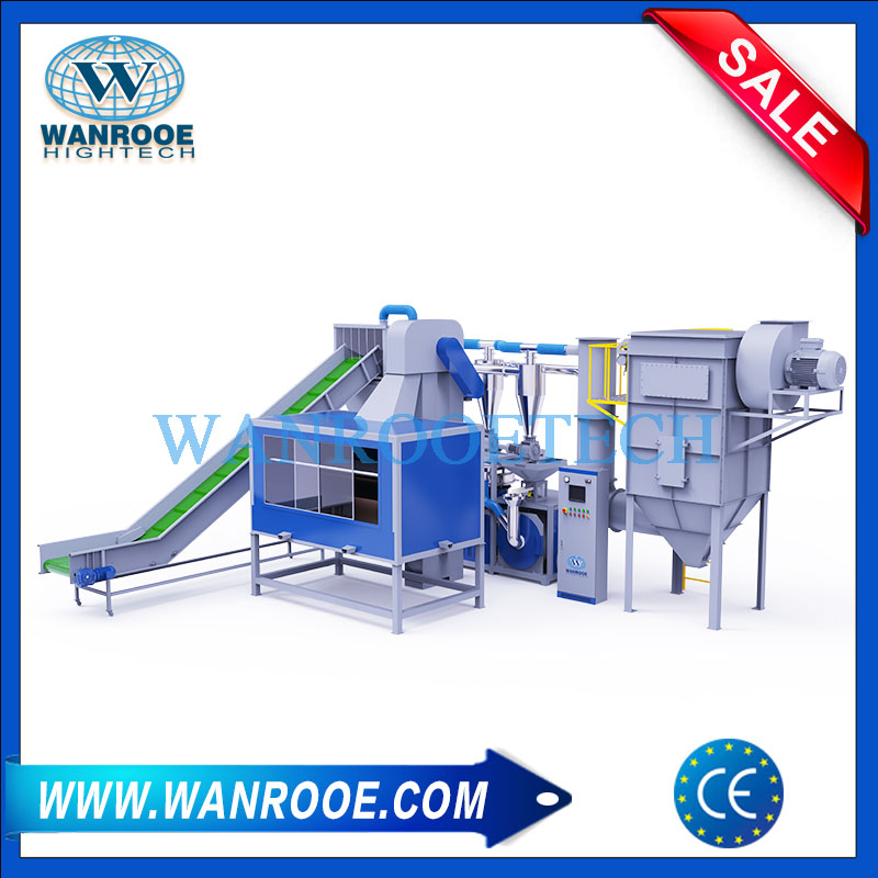 aluminum plastic recycling machine, plastic and aluminum recycling, aluminum plastic recycling, aluminum plastic separator, aluminum composite panel recycling machine