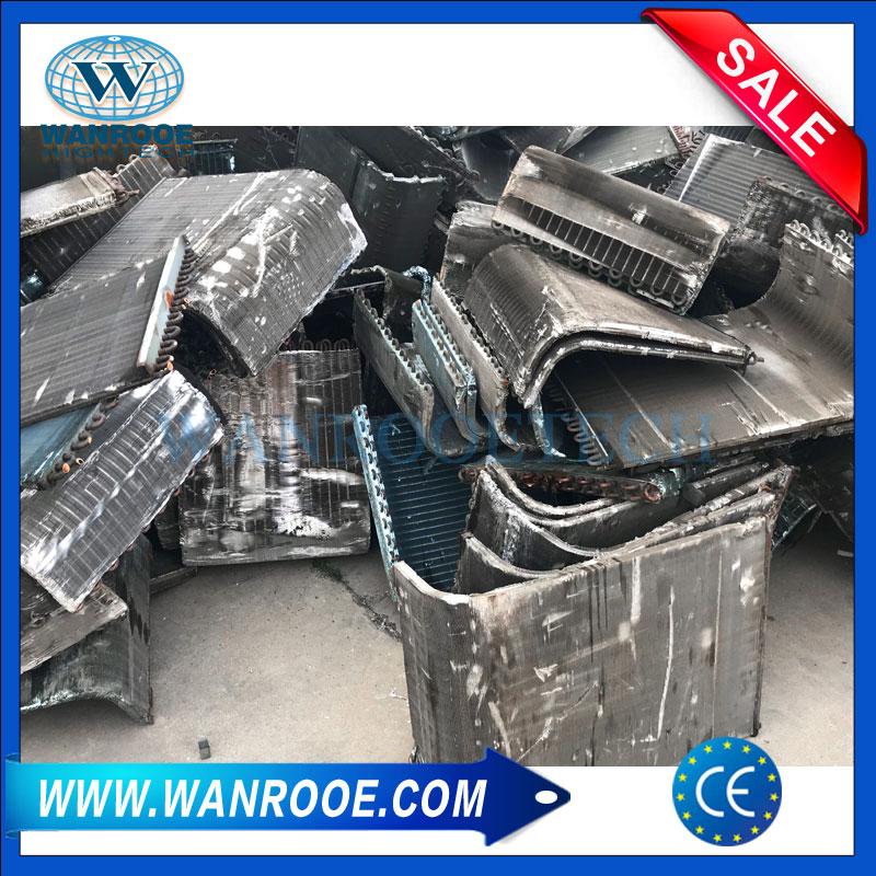 Waste Copper Aluminum Water Tank Scrap Radiator Recycling Plant