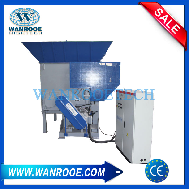 Swing Type Vertical Drum Shredder for wide range of application