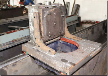 Industrial Electromagnetic Sucker Crusher Blade Knife Grinding Machine Cast iron grinding head support