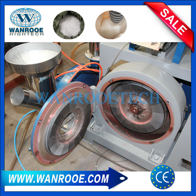 PE LLDPE LDPE MDPE HDPE Disc Plastic Pulverizer Machine