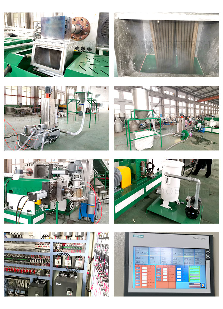 Pelletizing Machine, Film Pelletizing Machine, Film Pelletizer, HDPE Pelletizer, LDPE Pelletizer, CPP Pelletizer, BOPP Pelletizer