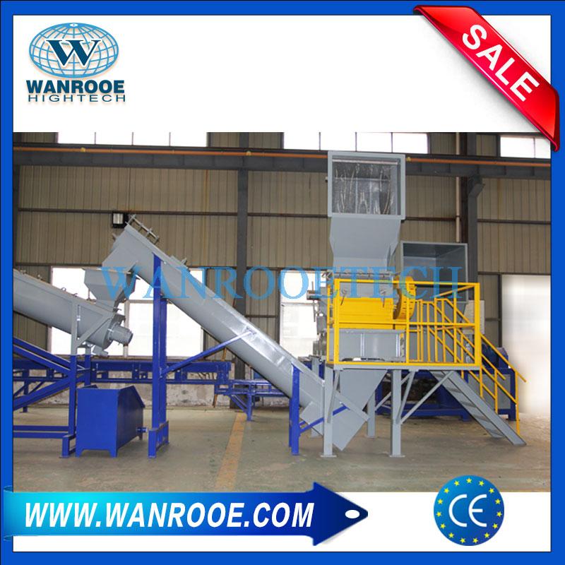 PP HDPE Washing Line, Plastic Bottle Washing Line, Battery Box Washing Line, Injection Waste Washing Line, Injection Waste Recycling