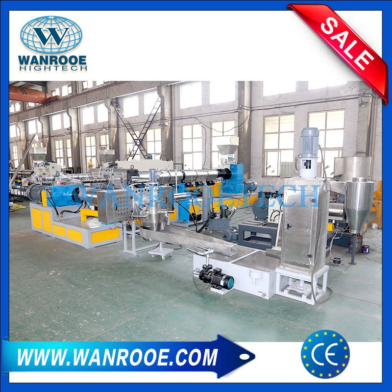 Non Woven Diapers Sanitary Napkin Recycling Squeezing Granulator Machine