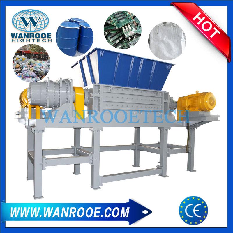 double shaft shredder, waste plastic shredder, twin shaft shredder, two shaft shredder,cable shredder, metal shredder