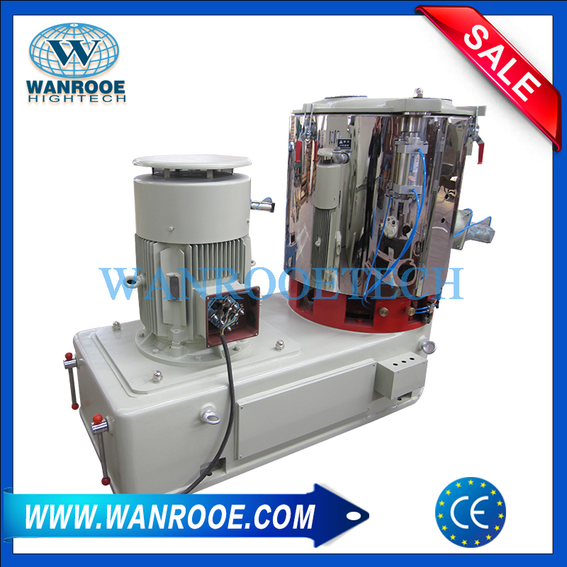 Plastic Rubber Dyes Food Daily Chemical Industry High Speed Mixer
