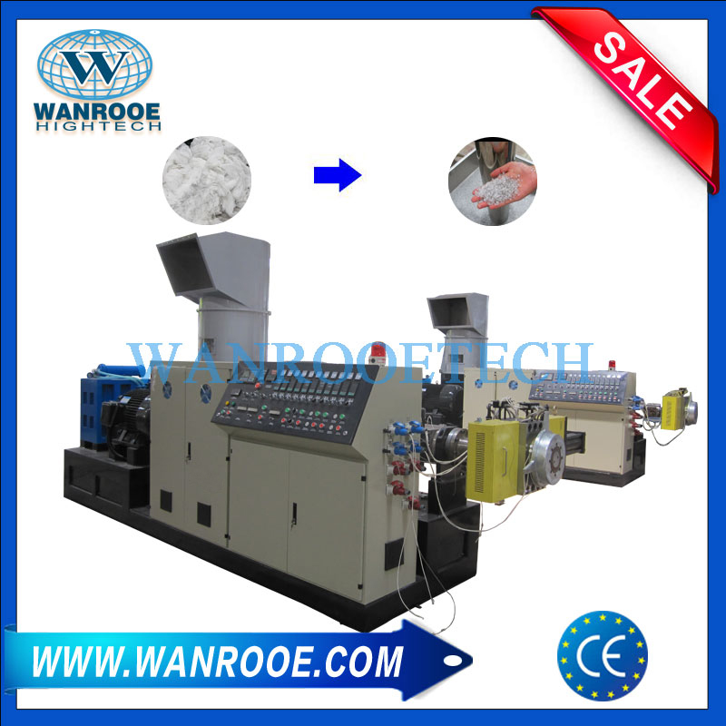 Single Stage Non-Woven Melt Blowing Compactor