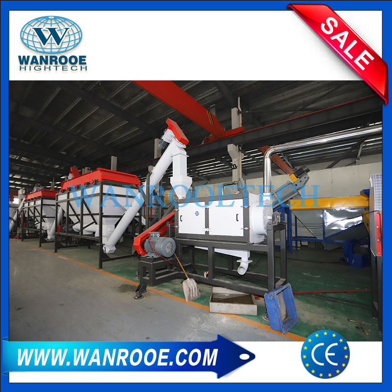 PET bottle recycling plant, PET recycling machine, PET recycling line, PET bottle washing line, PET Crushing Washing Line