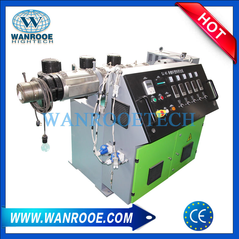 PP PE PVC ABS Plastic Coated Steel Pipe Extrusion Machine