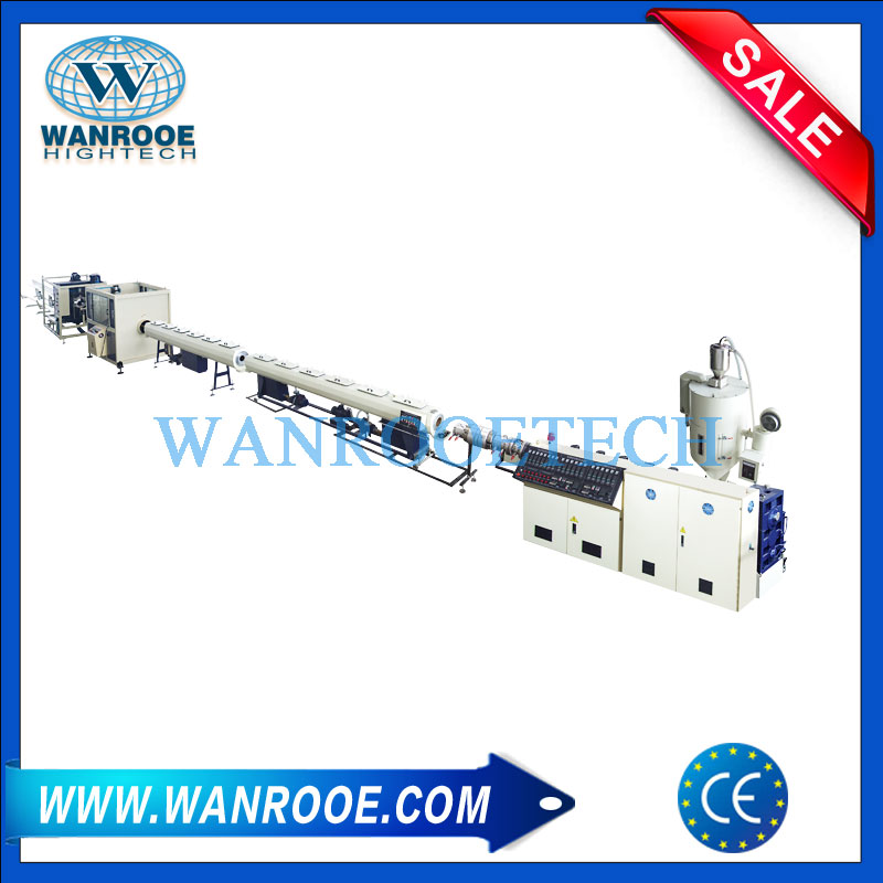 PPR pipe extrusion line,Plastic pipe extrusion line,Plastic pipe extrusion machine,Plastic pipe production line