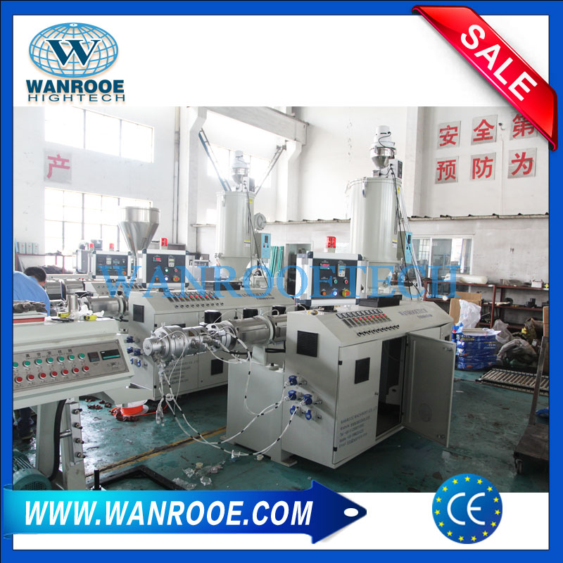 PPR pipe extrusion line, Plastic pipe extrusion line, Plastic pipe production line