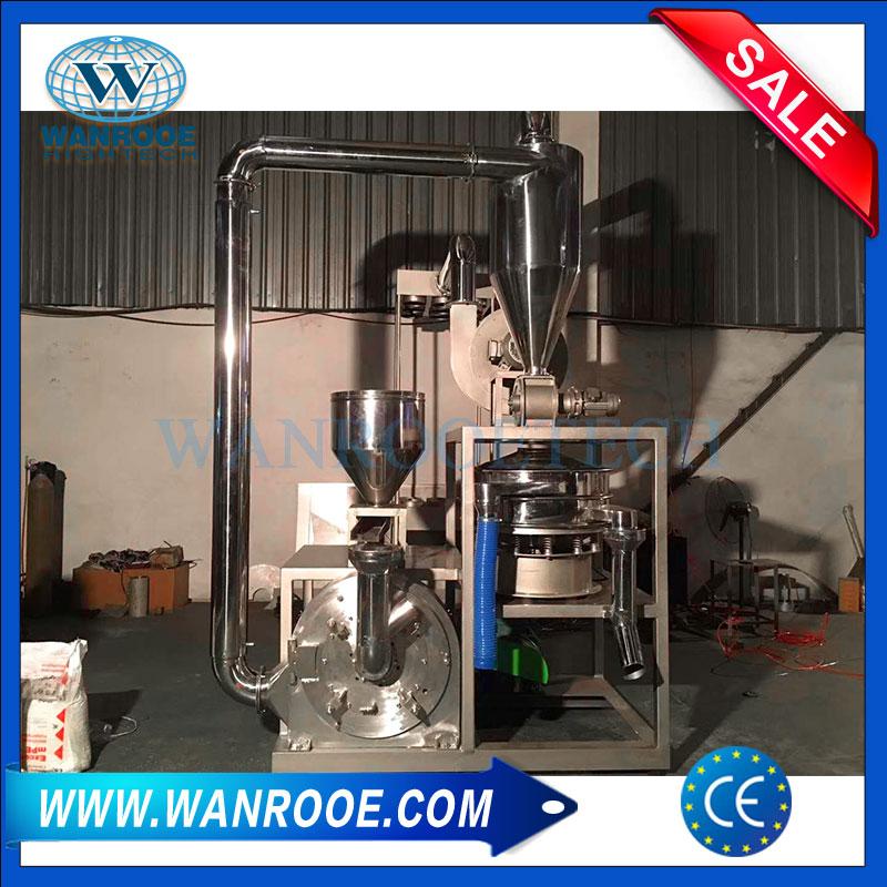 Stainless Steel Pulverizer, Masterbatching Pulverizer Machine, HDPE Pulverizer, PVC Pulverizer, PE Pulverizer, LDPE Pulverizer