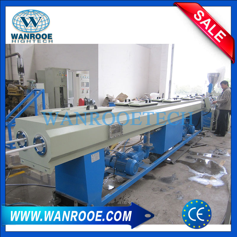 PVC double pipe extrusion line,PVC double pipe production line,Double PVC pipe extrusion line