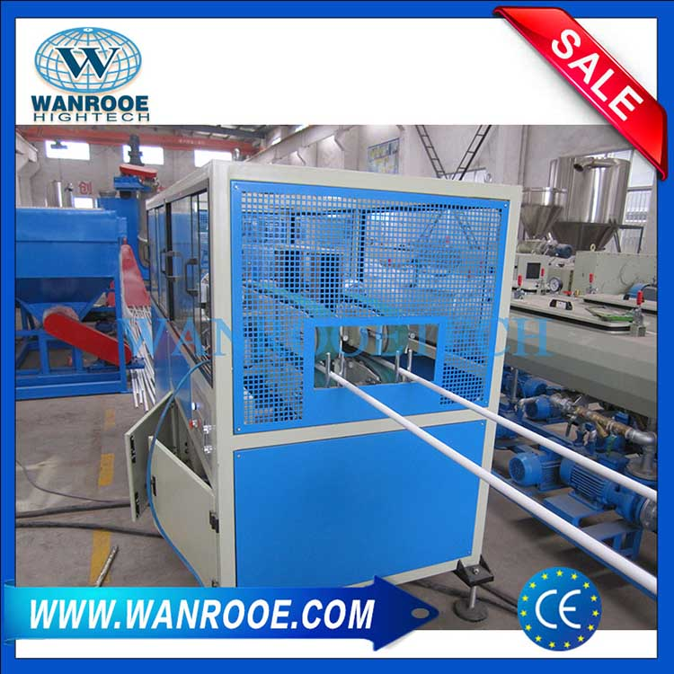 PVC dual pipe extrusion line,Double PVC pipe production line,Double PVC pipe making machine