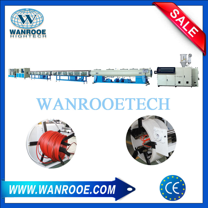 HDPE pipe extrusion machine,PE pipe extrusion machine,HDPE pipe making machine,PE pipe making machine