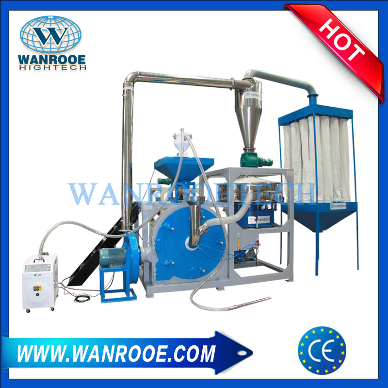 PTFE Pulverizer, PTFE Mill, PTFE Grinder, Poly Tetra Fluoroethylene Recycling, Plastic Pulverizer