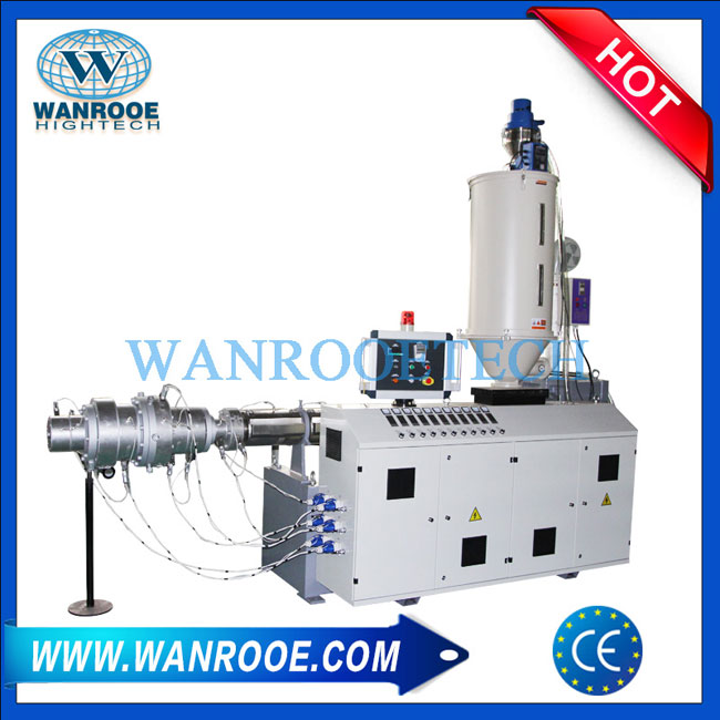 PP single screw extruder,PE single screw extruder,PPR single screw extruder,ABS single screw extruder
