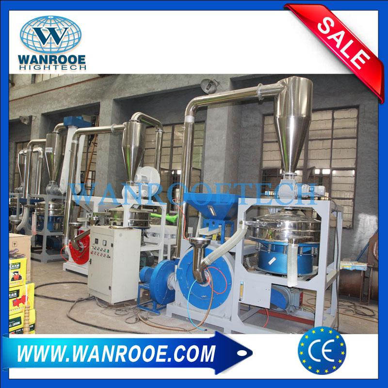 PVC Pulverizer, PVC Grinder, PVC Mill, Plastic Mill, Plastic Pulverizer