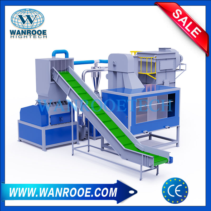 Medical Blister Recycling Machine, Pill Blister Recycling Machinery, Blister Foil Recycling Machine, Aluminum Blister Foil Separator, Medicine Board Recycling Plant