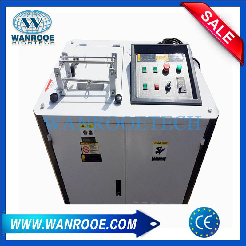 Ribbon Shredding Machine, Printer Ribbon Shredder, Stickers Label Shredder, Plastic Card Shredder,Ribbon Recycling Machine