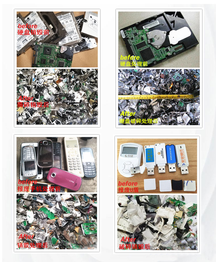 SSD Shredder, HDD Shredder, CD Shredder, PDA Shredder, Hard Disk Shredder, USB Shredder