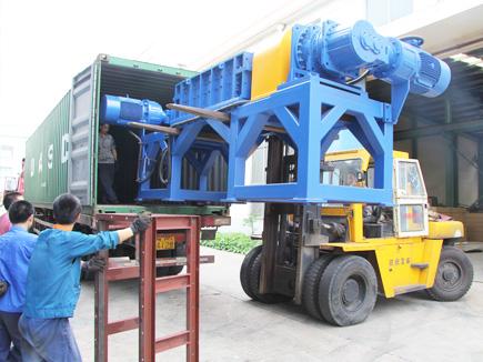 Machine delivery