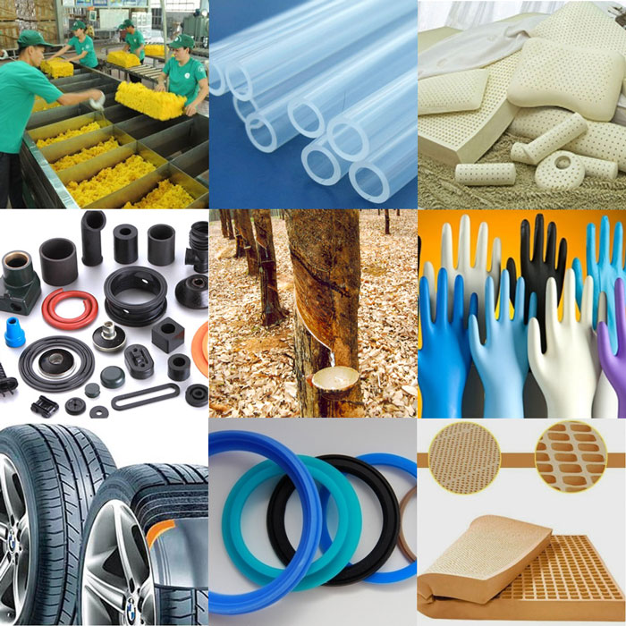 rubber products recycling