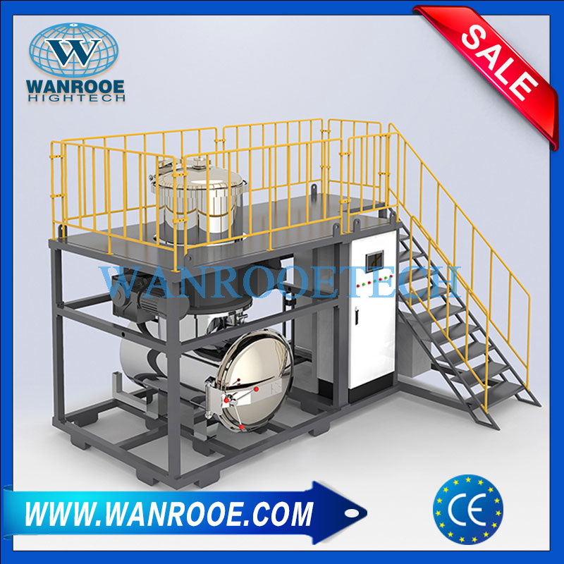 Biomedical Waste Steam Sterilizer Autoclave Shredder For Infectious Damaging Waste