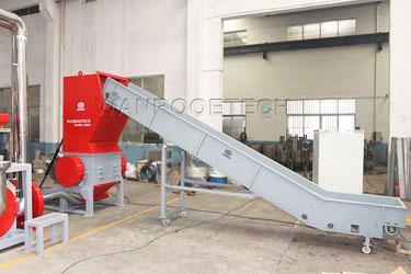 aluminum plastic crusher granulators